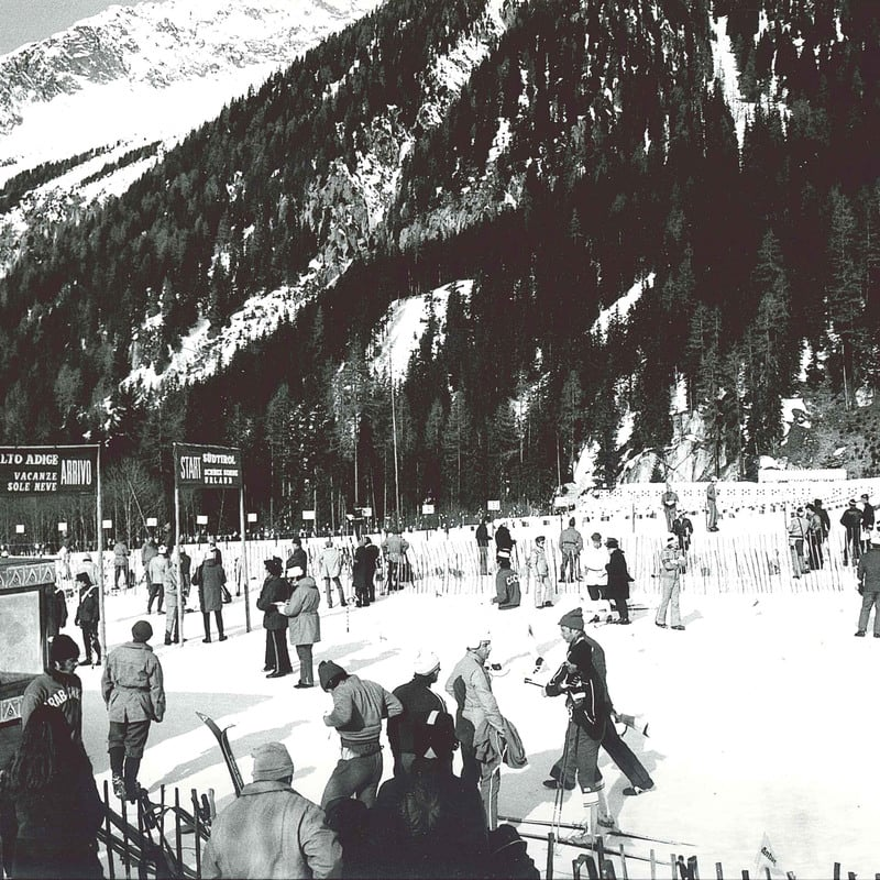 Biathlon roots in Anterselva