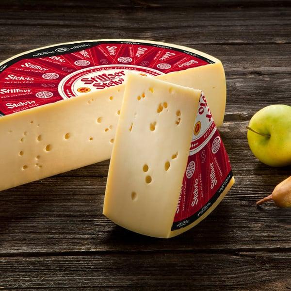 22.01.2019 - Il nostro formaggio Stelvio DOP