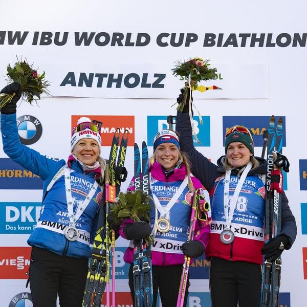 24.01.2019 - Inizia con una sorpresa la Coppa del mondo di Anterselva: vince la ceca Davidova