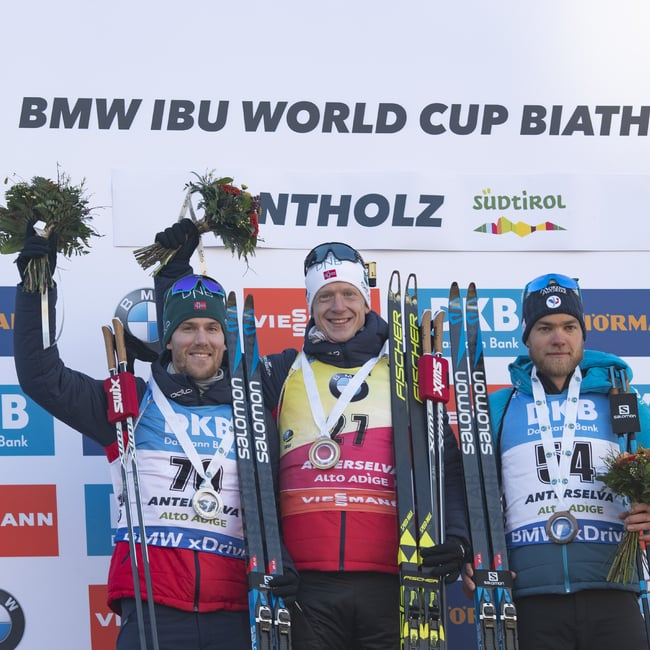 25.01.2019 - Johannes Thingnes Bø domina anche la sprint di Anterselva