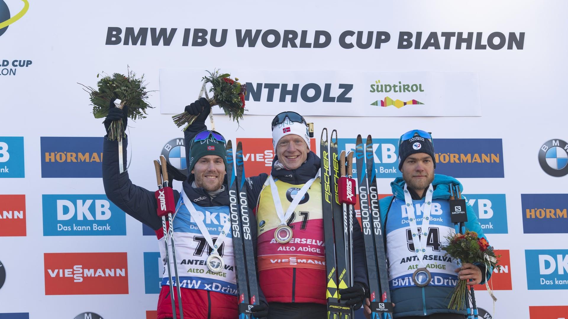 25.01.2019 - Johannes Thingnes Bø ist auch im Antholz-Sprint unschlagbar