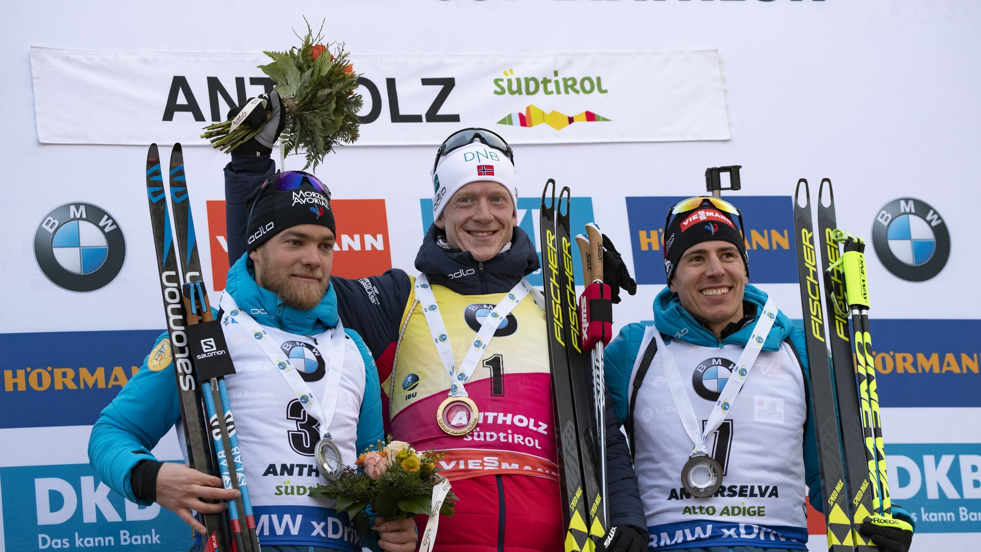 26.01.2019 - Johannes Thingnes Bø becomes the King of Anterselva