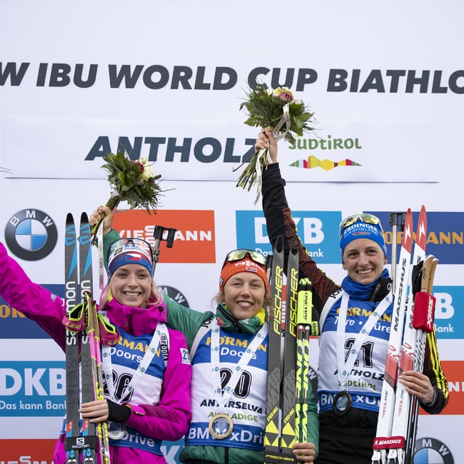 27.01.2019 - Laura Dahlmeier wins mass start in Anterselva