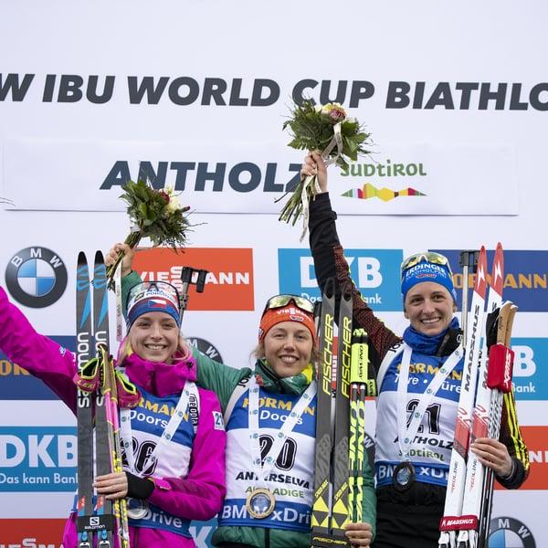 27.01.2019 - Laura Dahlmeier gewinnt Massenstart in Antholz
