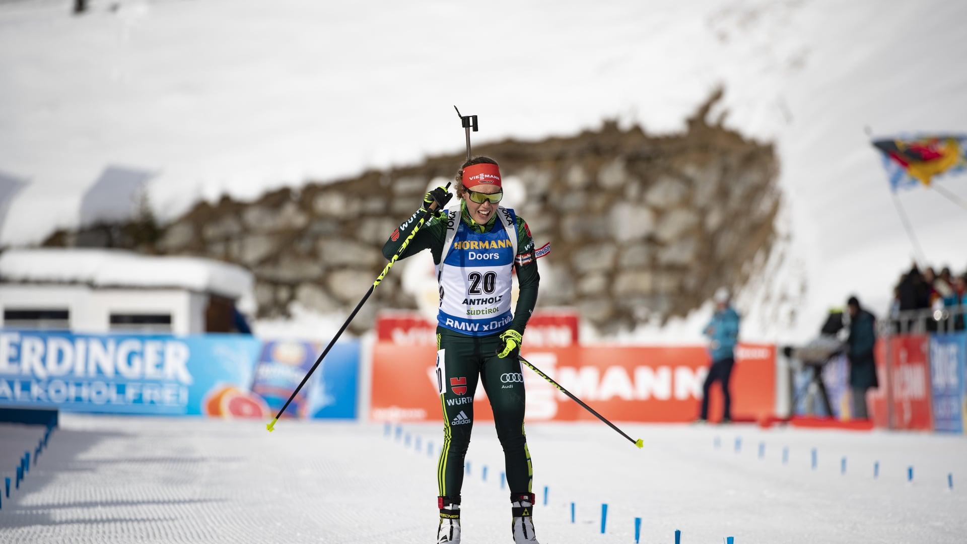 27.01.2019 - Laura Dahlmeier vince la partenza in massa ad Anterselva