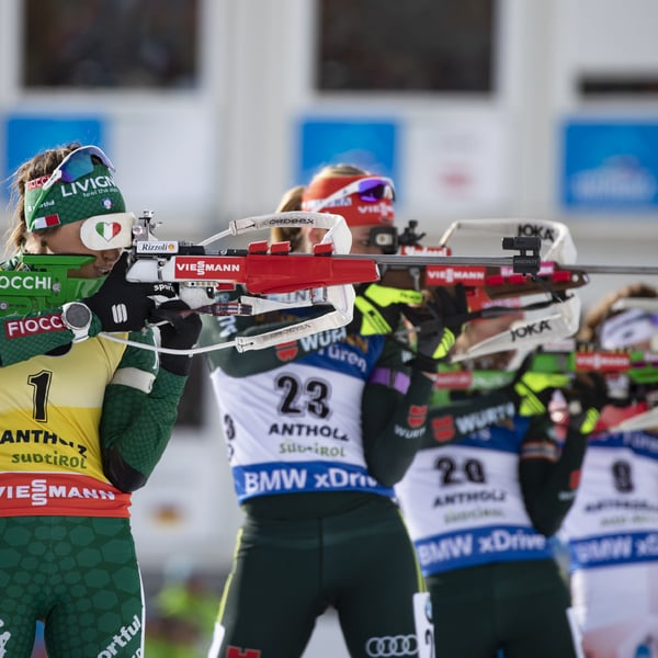 27.01.2019 - Laura Dahlmeier gewinnt Massenstart in Antholz