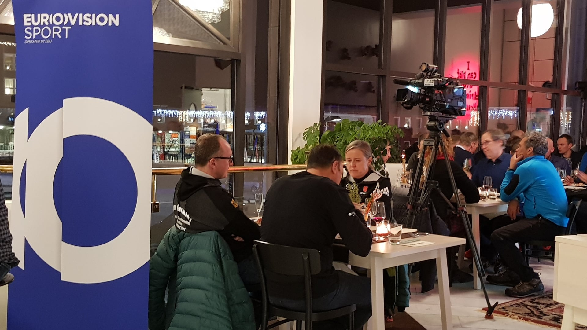 11.03.2019 - L'Antholz House di Östersund entra nella sua seconda settimana di apertura.
