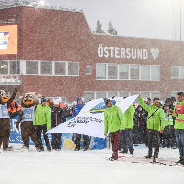 17.03.2019 - Grande festa finale all'Antholz House con tutte le medaglie italiane del Mondiale di Östersund
