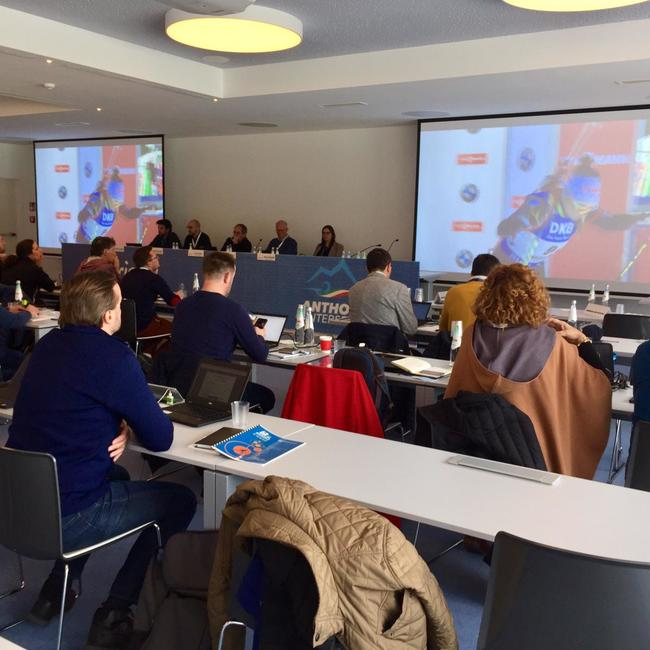 12.04.2019 - World Broadcaster Meeting in Antholz