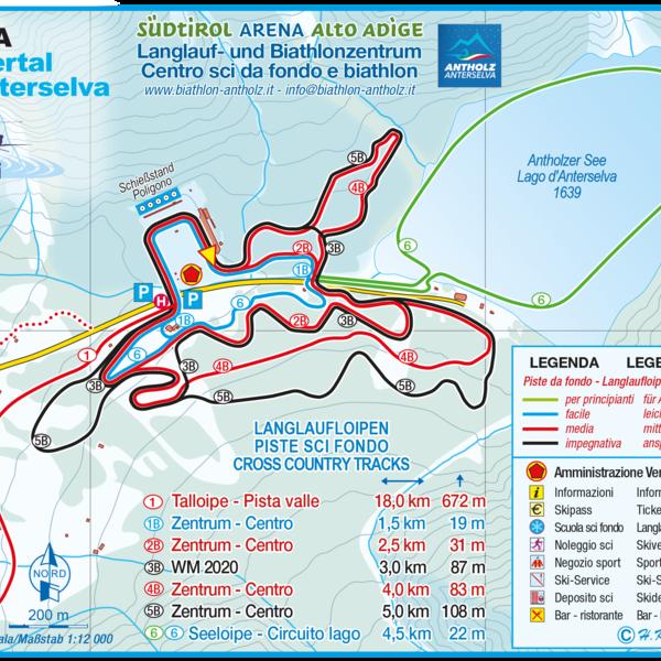 Centro ski fondo e Biathlon Anterselva