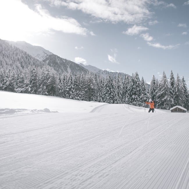 Cross-country skiing paradise Antholz