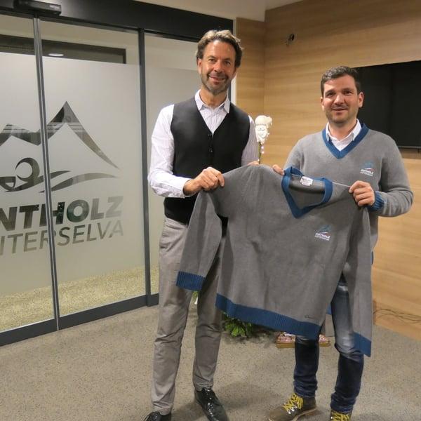 11.01.2020 - Luis Trenker - orgoglioso Silver Partner dei Campionati del Mondo di Biathlon 2020 ad Anterselva