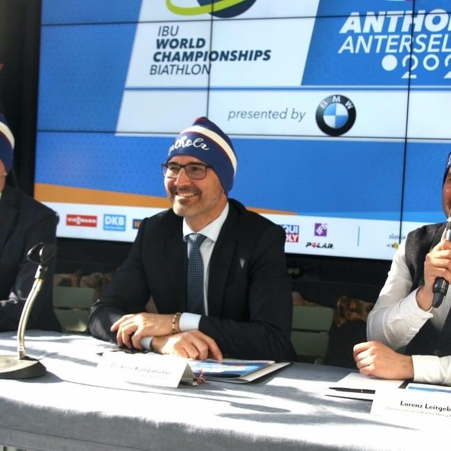 30.01.2020 - Die Biathlon-WM kommt nach Antholz
