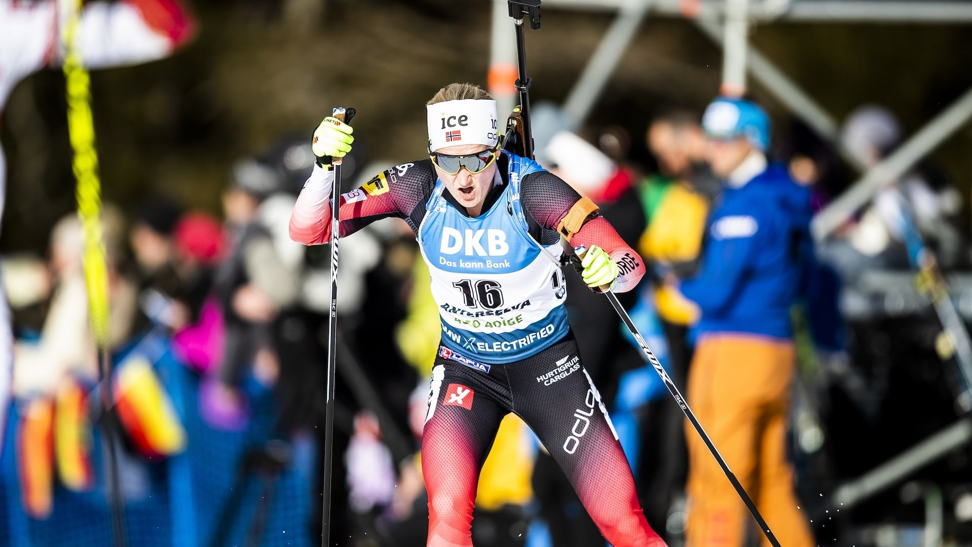 14.02.2020 - Norway's Røiseland wins second Gold for the country