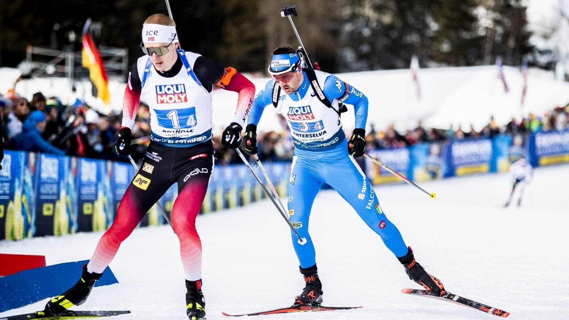 14.02.2020 - Tanti favoriti nella Sprint maschile