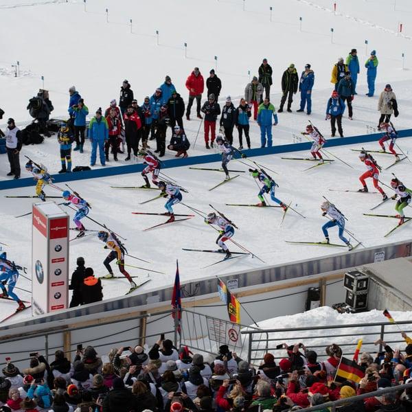 16.02.2020 - Sonntag zwei packende Wettkämpfe in der Südtirol Arena
