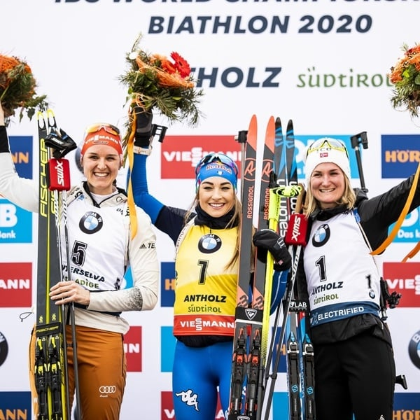 16.02.2020 - Dorothea Wierer fulfills her Golden dream
