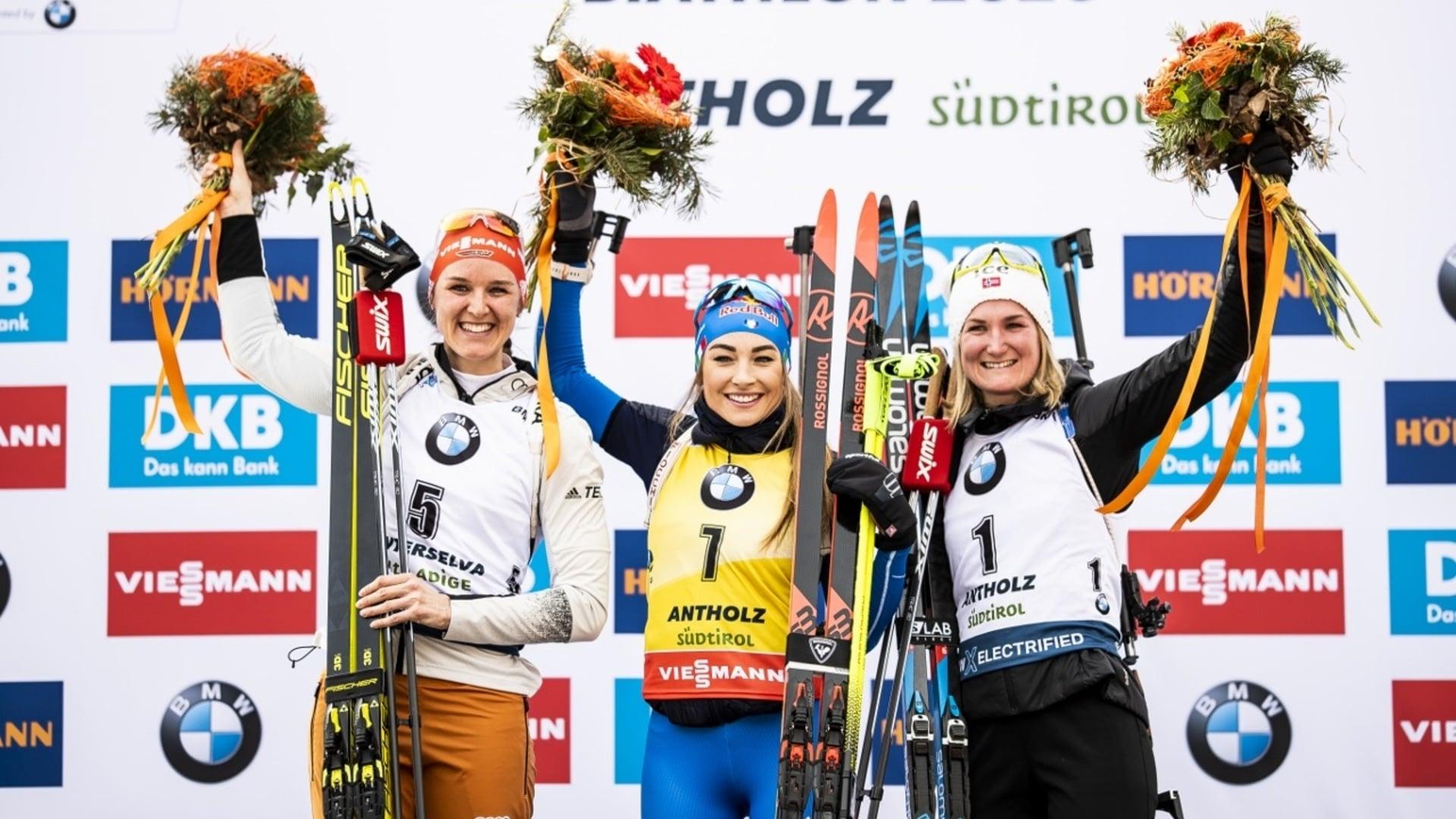 16.02.2020 - Dorothea Wierer fulfills her Golden dream