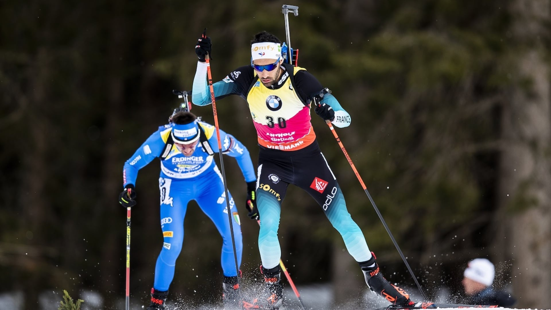 19.02.2020 - Fourcade wins gripping duel