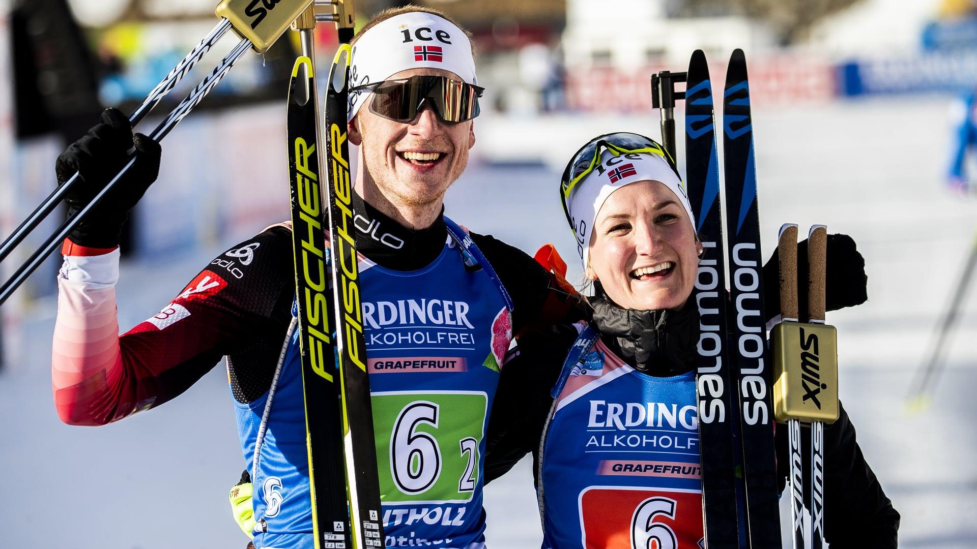 20.02.2020 - La staffetta mista singola rimane alla Norvegia
