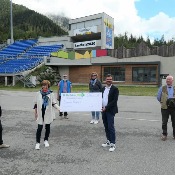19.06.2020 - The Biathlon World Championship Antholz supports South Tyrolean cancer aid
