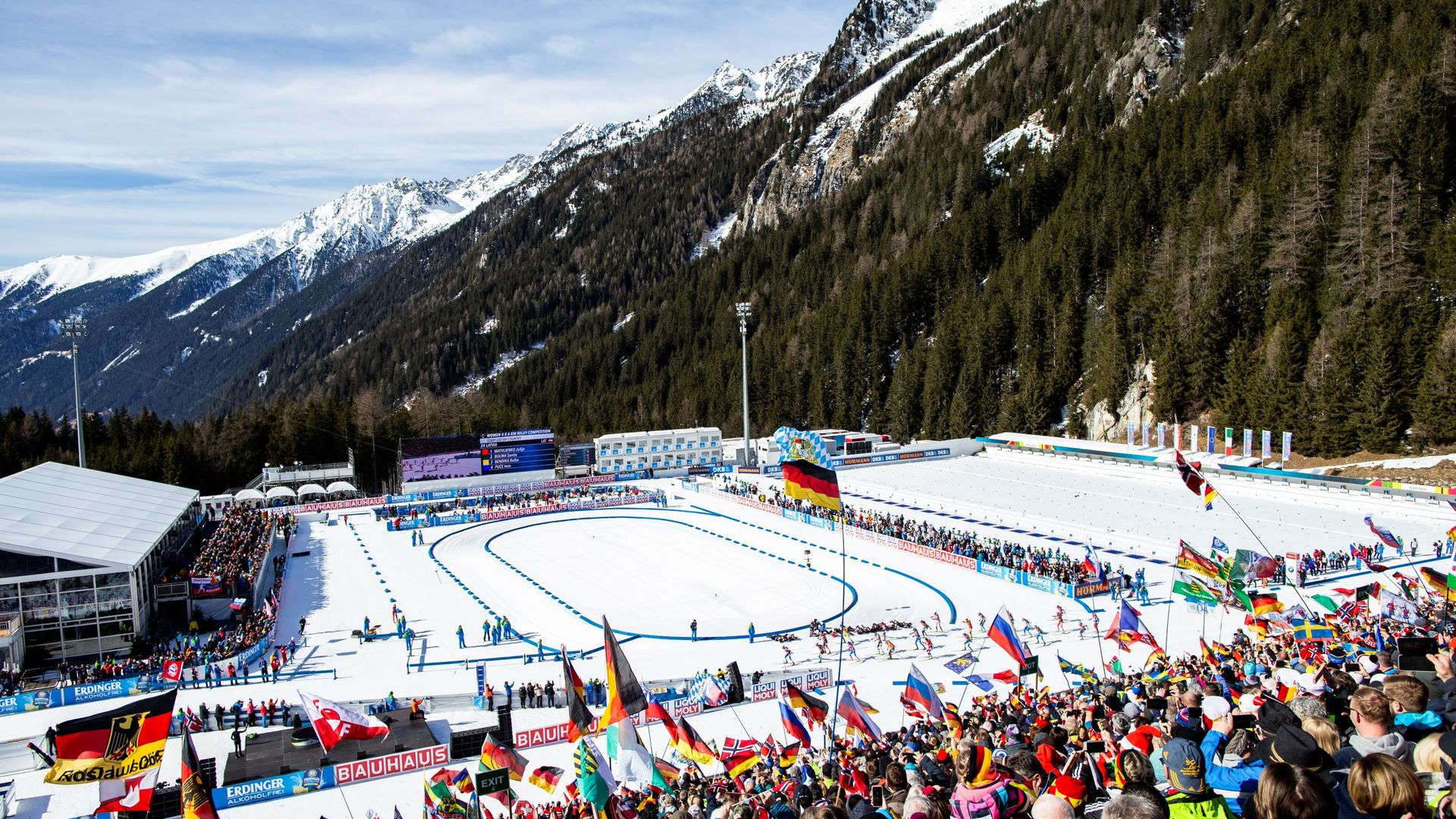 05.10.2020 - The Biathlon World Cup returns to Antholz in January 2021
