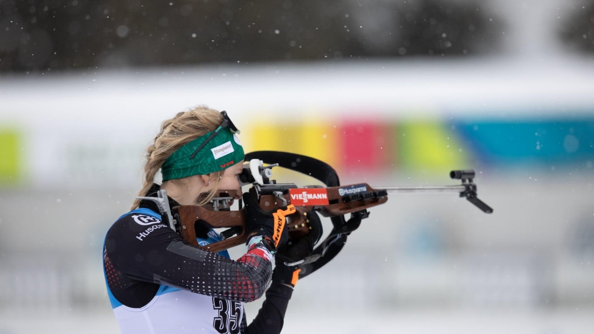 21.01.2021 - Lisa Theresa Hauser sorgt für Sensationssieg beim Antholz-Auftakt