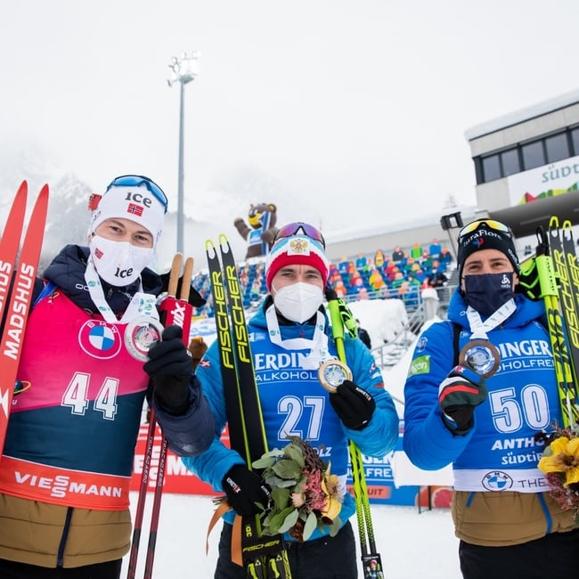 22.01.2021 - Loginov Wins Men Individual Race – Hofer Misses Podium by A Whisker