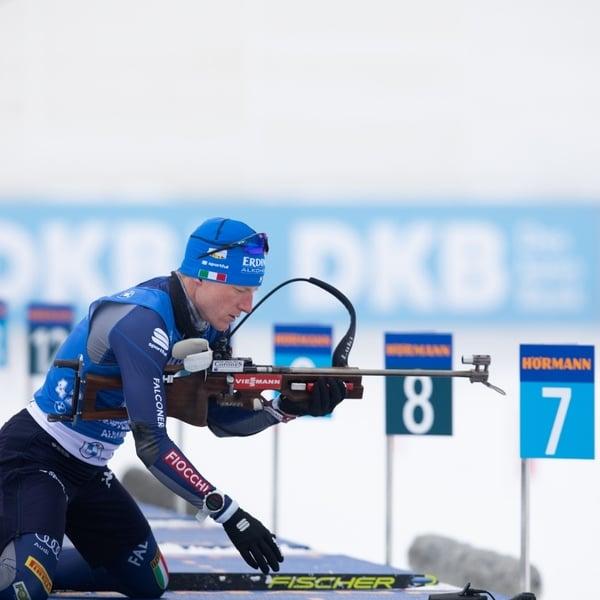 22.01.2021 - Loginov gewinnt Herren-Einzel - Hofer verpasst Podium hauchdünn