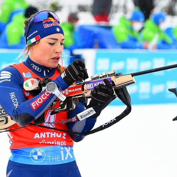23.01.2021 - Julia Simon wins Antholz Mass Start Competition