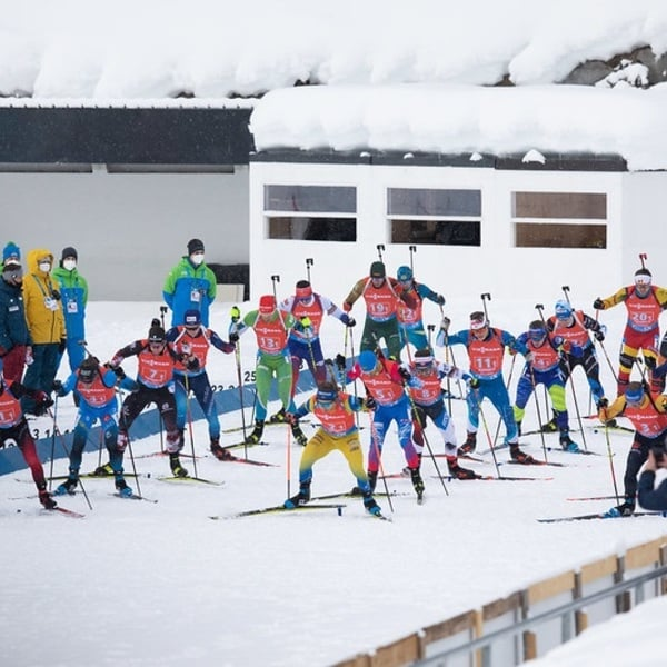 23.01.2021 - French Team Giving A Great Show in Relay
