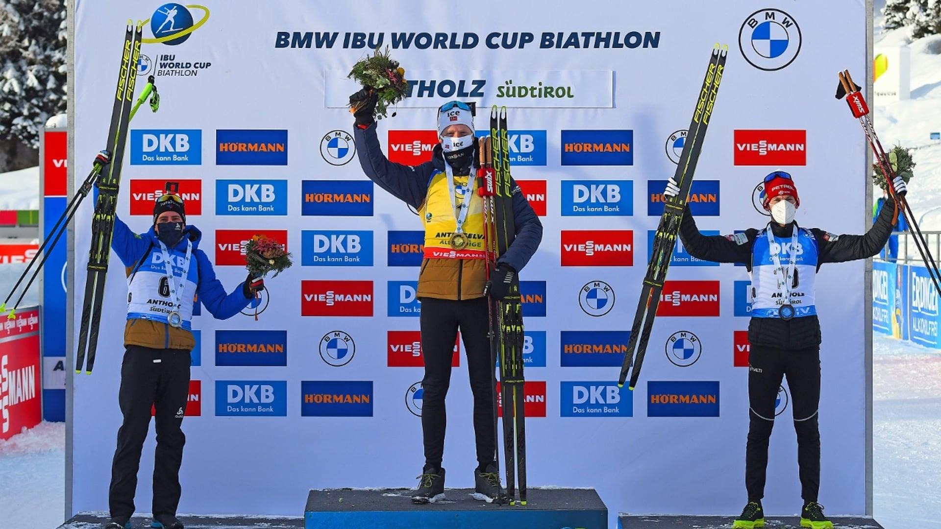 24.01.2021 - L'ultima vittoria ad Anterselva va a Johannes Thingnes Bø