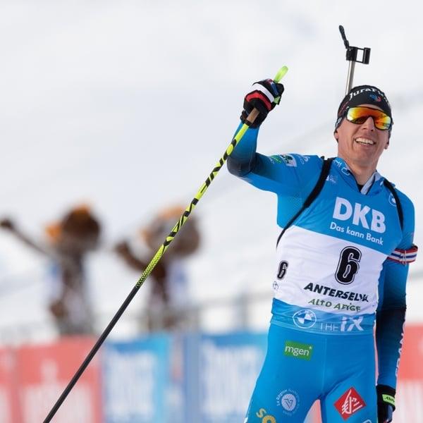 24.01.2021 - Johannes Thingnes Bø darf beim Antholz-Abschluss doch noch jubeln